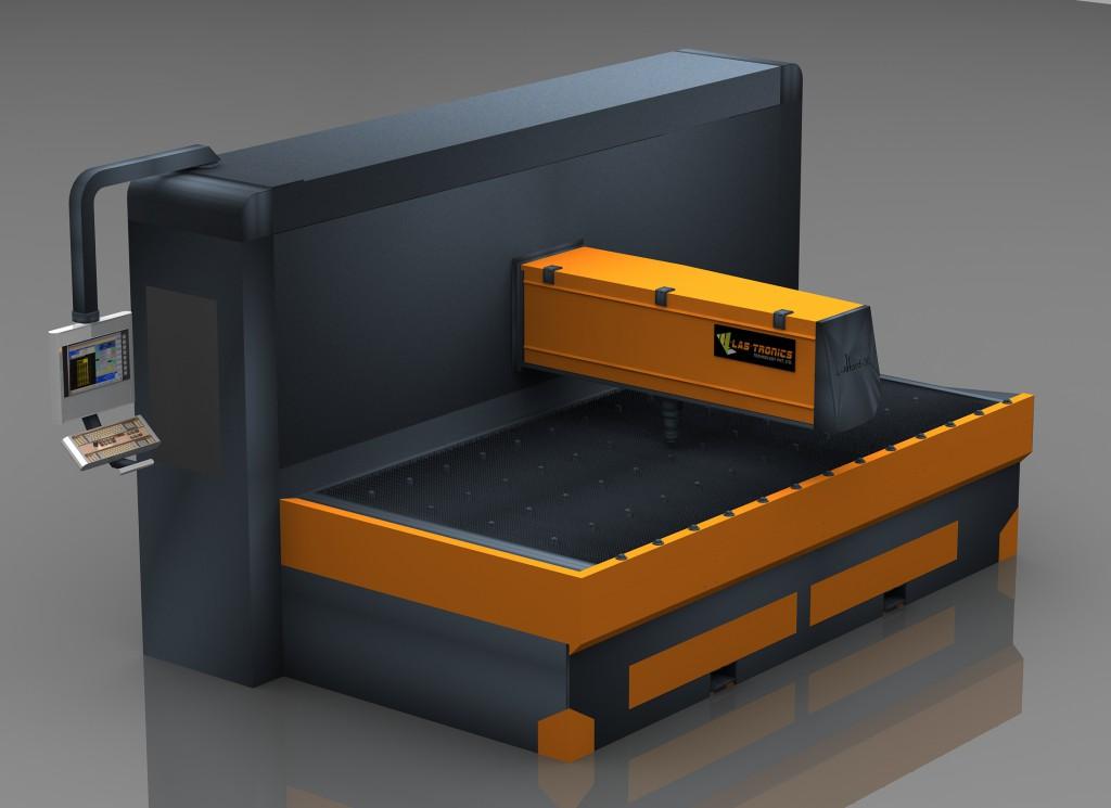 Laser Cutting Machine Lafford 15R-F View 3